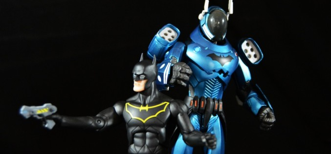 DC Collectibles Greg Capullo Designer Series GCPD Batman With Armor 2 Pack Review