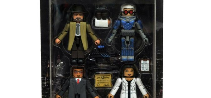 Diamond Select Toys Gotham Minimates Series 4 In Packaging