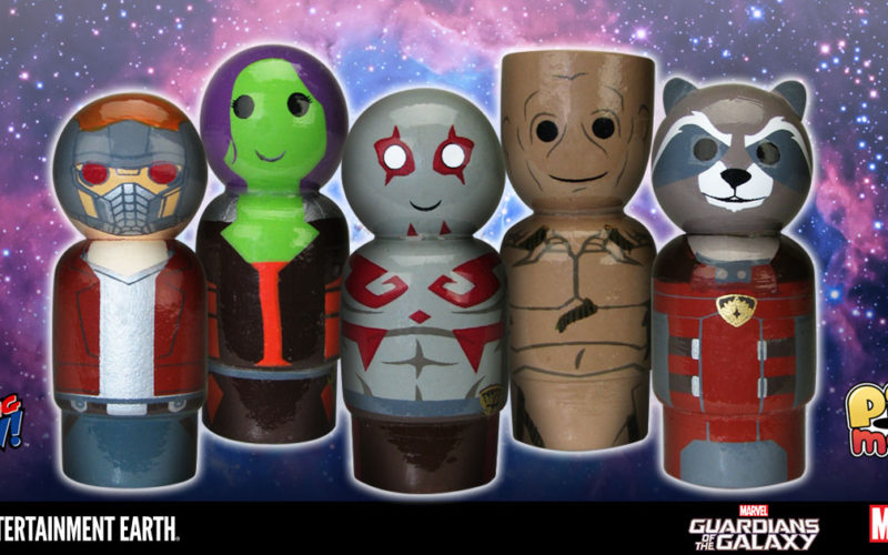 Guardians Of The Galaxy Pin Mates To Debut At New York Toy Fair