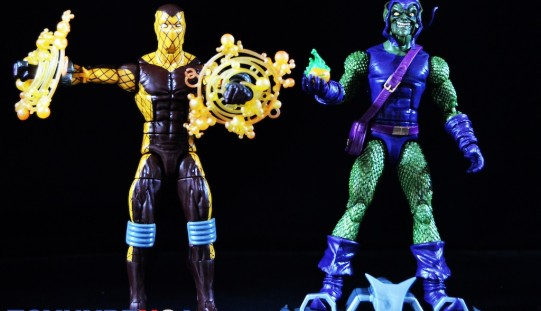 Hasbro Marvel Legends 6″ Spider-Man Infinite Legends Green Goblin & Shocker Review
