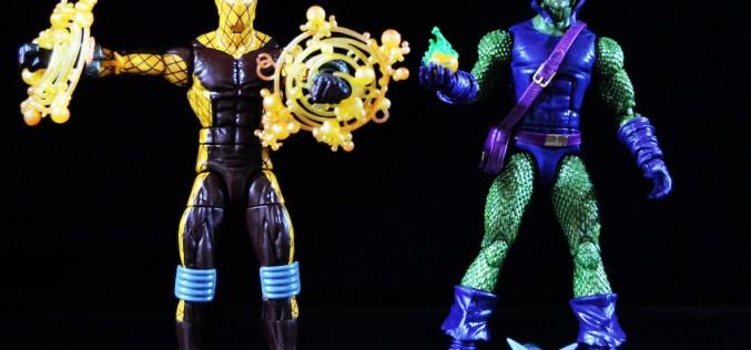 Hasbro Marvel Legends 6″ Spider-Man Infinite Legends Green Goblin & Shocker Review