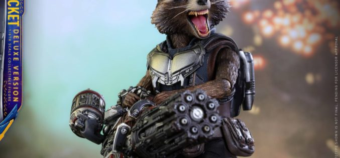 Hot Toys Guardians Of The Galaxy Vol. 2 Rocket Raccoon
