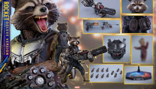 Hot Toys Guardians Of The Galaxy Vol. 2 Rocket Raccoon Pre-Order