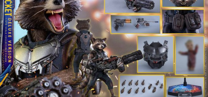 Hot Toys Guardians Of The Galaxy Vol. 2 Rocket Raccoon Pre-Order