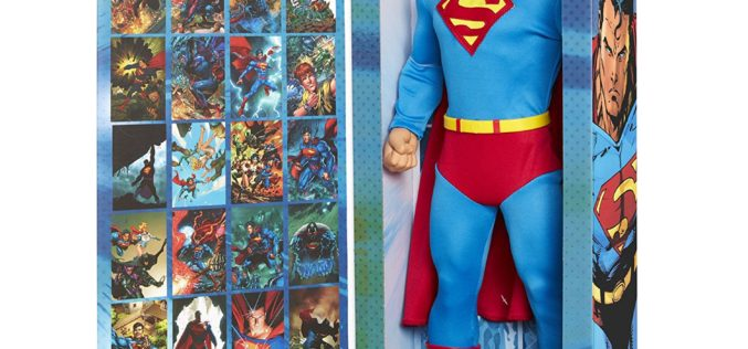 JAKKS Pacific Big Figs Tribute Series DC Originals 19″ Superman Exclusive Figure In Stock On Amazon