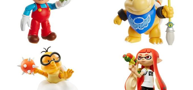 JAKKS Pacific World Of Nintendo 4″ Figure Assortment Waves 8-10