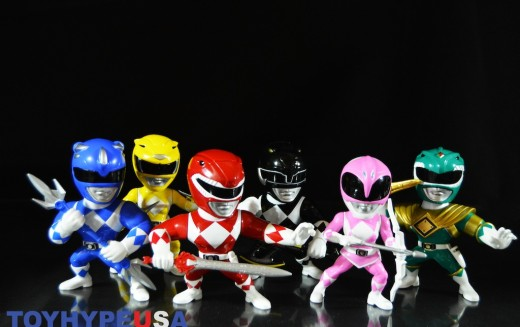 Jada Toys: Mighty Morphin Power Rangers Metals Die Cast Figures Review