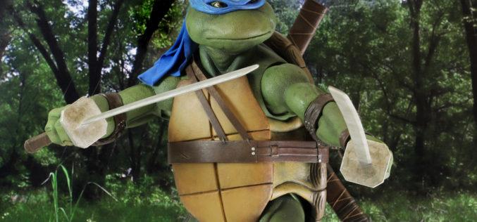 NECA Toys Shipping This Week: Prometheus & Teenage Mutant Ninja Turtles 1/4″ Leonardo
