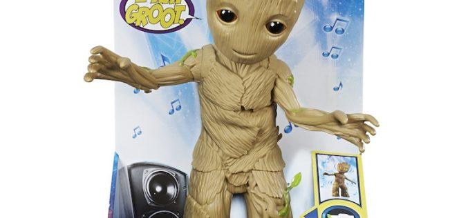 Hasbro Marvel Dancing Groot Figure Revealed