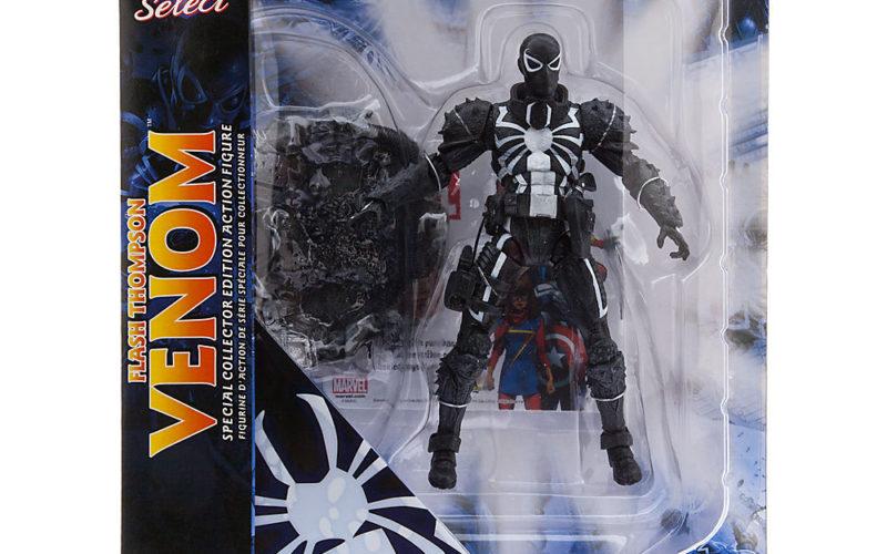 Disney Store Exclusive Marvel Select Agent Venom Figure