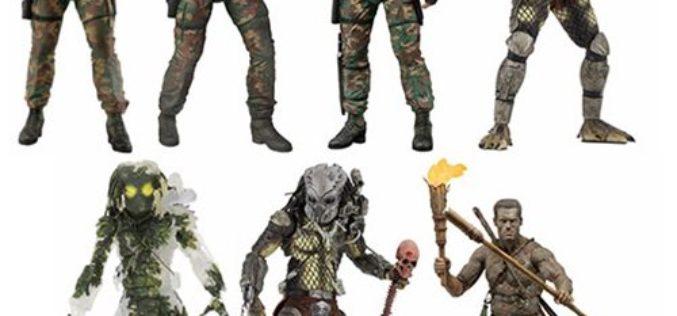 NECA Toys Predator 30th Anniversary Figures Case Ratio Revealed