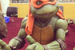 NECA Toys Teenage Mutant Ninja Turtles 1/4″ Scale Michelangelo Preview Images