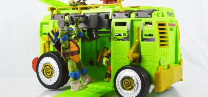 Playmates Toys Teenage Mutant Ninja Turtles Shellraiser Street To Sewer Assault Vehicle Review