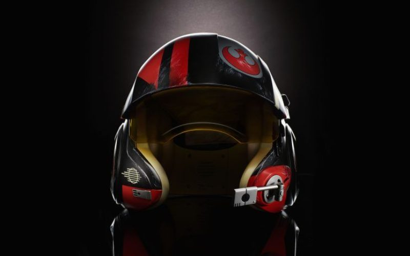 Hasbro Star Wars The Black Series Poe Dameron Electronic Helmet To Debut At New York ToyFair