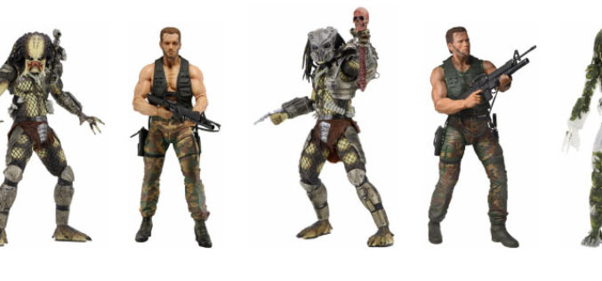 NECA Toys Predator 30th Anniversary Figure Details & Images