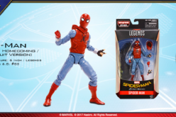 Hasbro Marvel Legends 6″ Spider-Man: Homecoming In Package Images