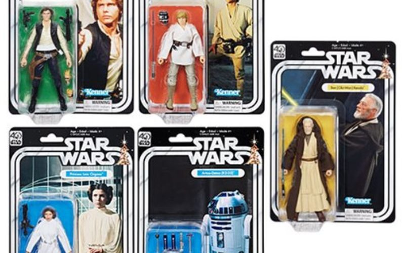 Star Wars 40th Anniversary 6″ Figures Wave 1 Pre-Orders On GameStop