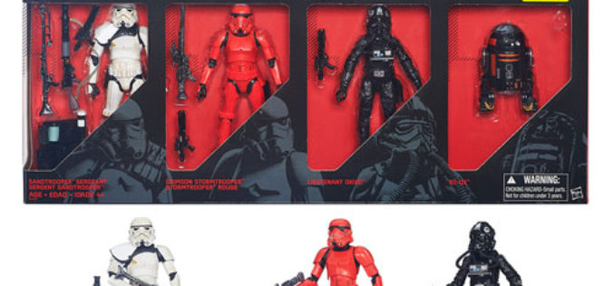 Entertainment Earth Exclusive The Black Series Imperial Forces Box Set On Sale For $45.99
