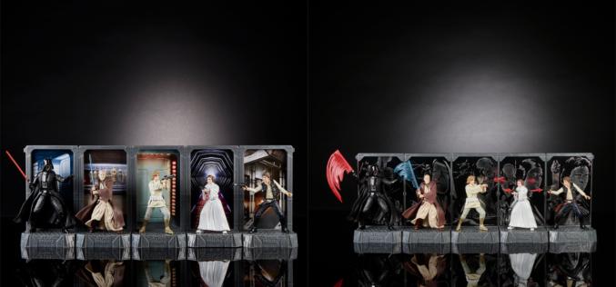 Hasbro Star Wars 40th Anniversary Titanium & Black Series Centerpiece