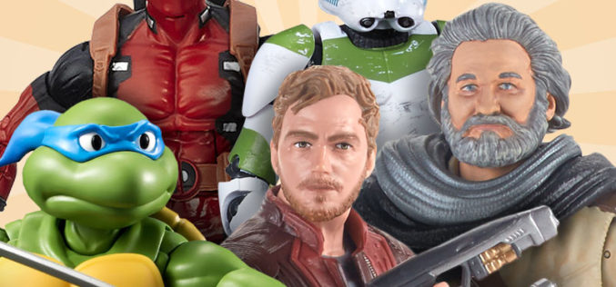 Take Your Action Figure To Work Day Is This Friday, March 3rd & BOGO Sale