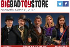 BigBadToyStore: Dragon Ball Z, Sherlock, Doctor Who, James Bond, Acid Rain, Spider-Man & More