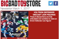 BigBadToyStore: Voltron, Marvel Legends, Spider-Gwen, Alien, Transformers, GotG, Godzilla & More