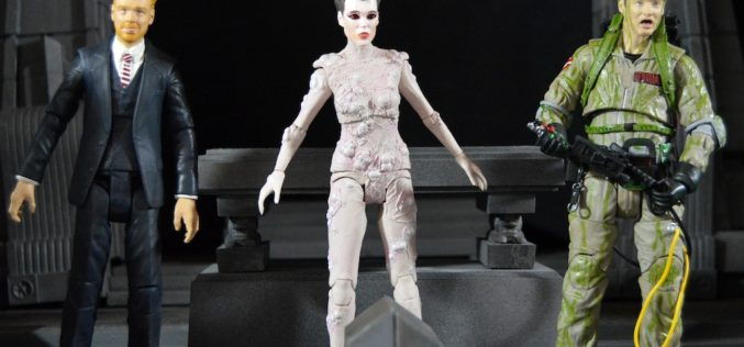 Diamond Select Toys Ghostbusters Select 7″ Series 4 Slimed Peter Venkman, Walter Peck & Gozer Review
