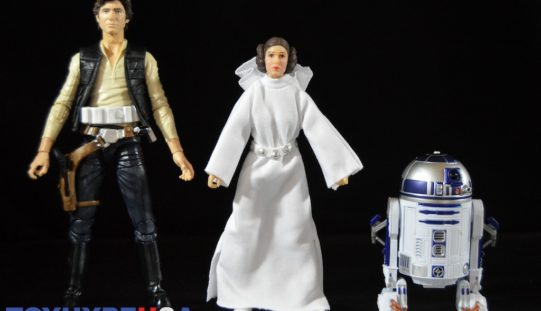 Hasbro Star Wars 40th Anniversary 6″ Han Solo, Princess Leia & R2-D2 Figures Review