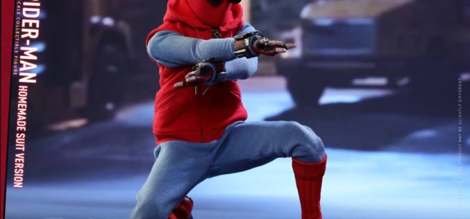 Hot Toys Spider-Man: Homecoming – Homemade Spider-Man Suit Sixth Scale Figure