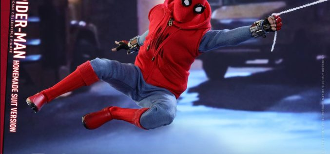 Hot Toys Spider-Man: Homecoming – Homemade Spider-Man Suit Sixth Scale Figure Pre-Orders