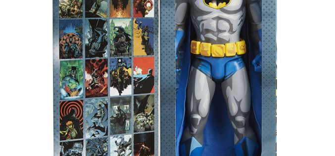 JAKKS Pacific Big Figs Tribute Series DC Originals 19-Inch Batman Figure In Stock On Amazon