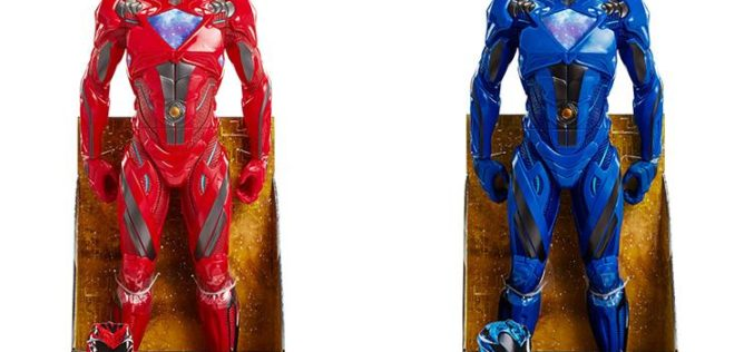 JAKKS Pacific Power Rangers 2017 Movie 20″ Red & Blue Big Figs