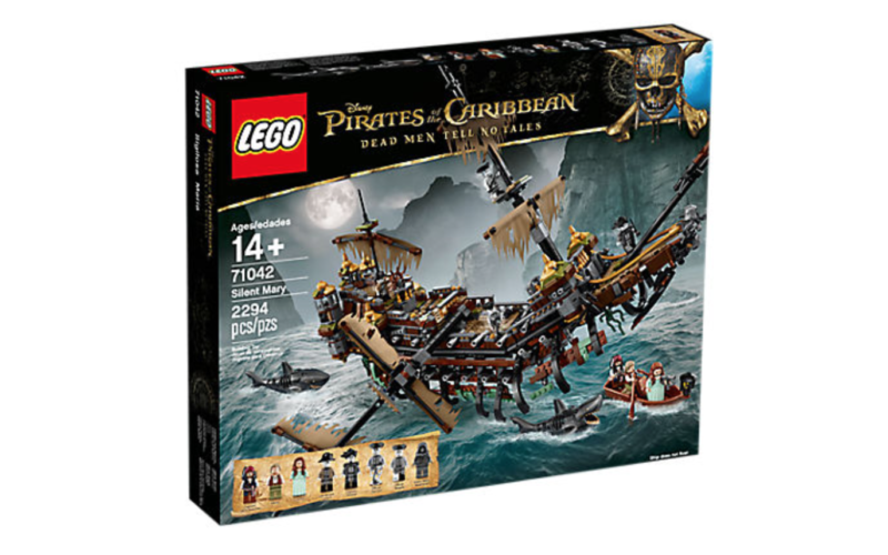 LEGO Pirates Of The Caribbean: Dead Men Tell No Tales Silent Mary Pirate Ship Coming April 1st