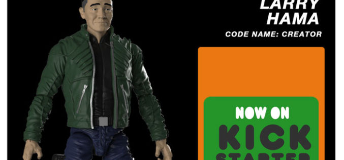Legendary Comic Book Creator Larry Hama Gets His Own Action Figure Through Kickstarter