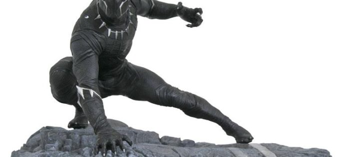 Diamond Select Toys Marvel Gallery Black Panther, Daredevil, Captain America & More New Statues