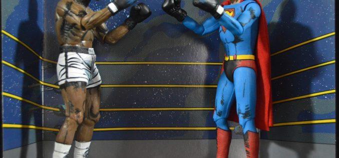 NECA Toys Muhammad Ali v Superman Figure 2 Pack Review
