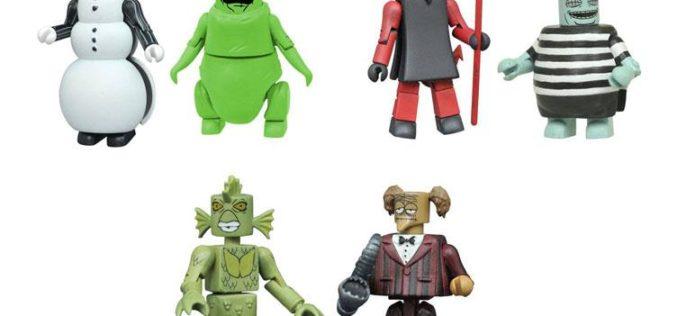 Nightmare Before Christmas Minimates Series 4 Two Packs