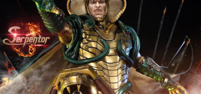 Prime 1 Studio G.I. Joe Serpentor Statue Official Details & Images