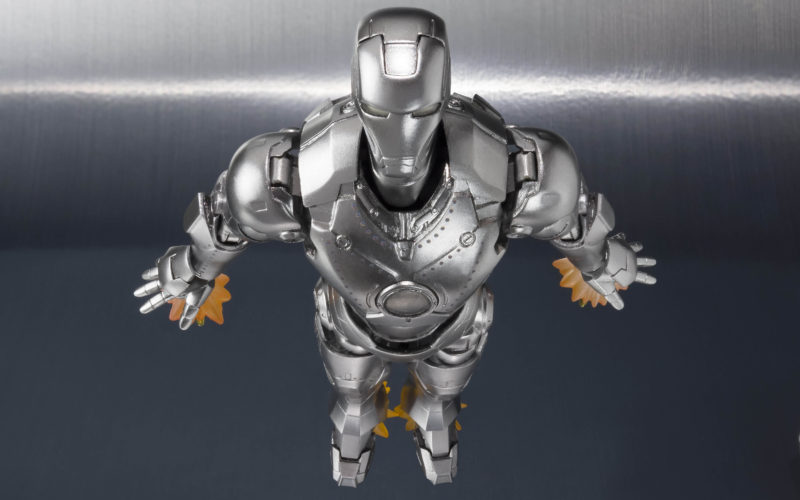 S.H. Figuarts Iron Man Mark 2 With Hall Of Armor Piece