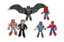 Spider-Man: Homecoming Marvel Minimates New Figure Images