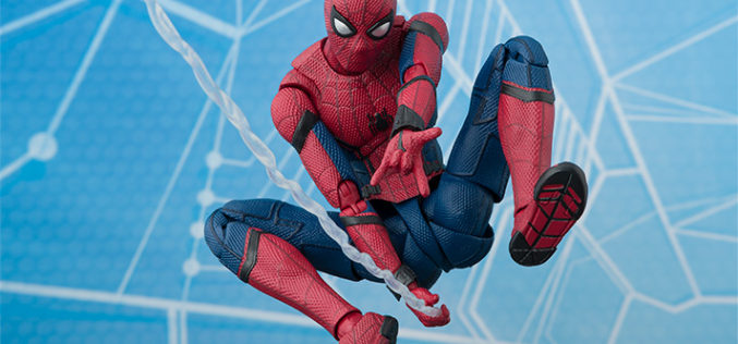 S.H. Figuarts Spider-Man: Homecoming Figure – U.S. Release