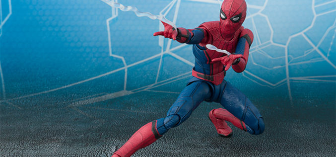 S.H. Figuarts Spider-Man: Homecoming Official Figure Details & Images