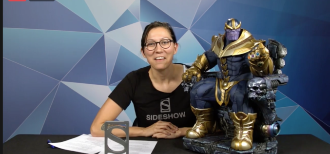 Sideshow Collectibles Marvel's Thanos On Throne Maquette, Boba Fett & More Reveals