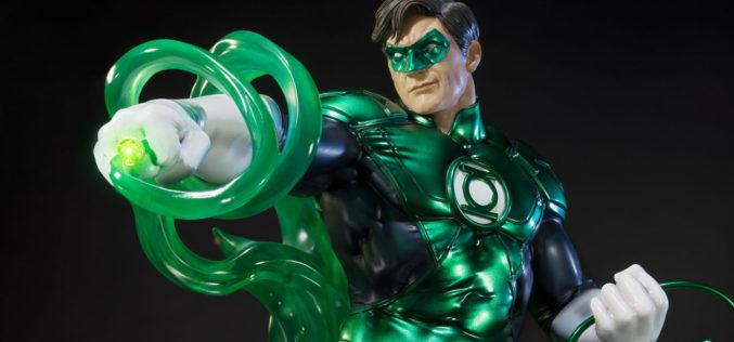 Sideshow Collectibles Green Lantern Hal Jordan New 52 Statue Pre-Orders