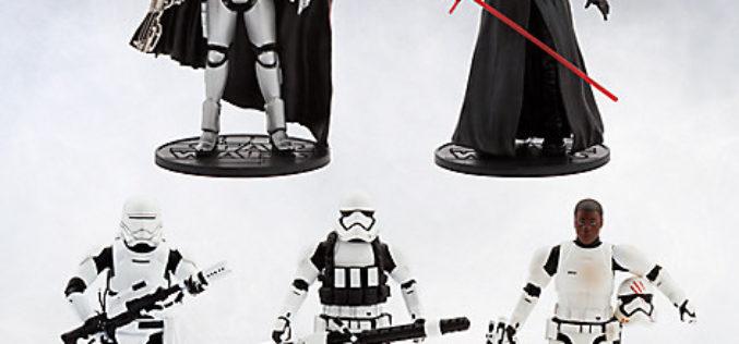 Disney Store Star Wars Elite Series Figures On Sale For $9.99
