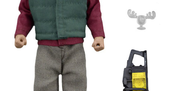 NECA Toys National Lampoon's Christmas Vacation – 8″ Clothed Chainsaw Clark Figure