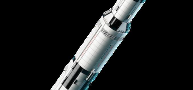 LEGO NASA Apollo Saturn V Ready For Launch