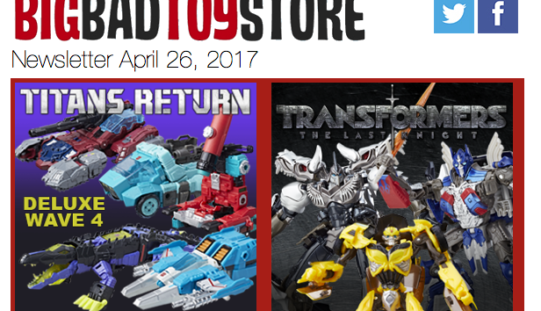 BigBadToyStore: Transformers, Breath Of The Wild, GotG, Mega Man, TWD, Sailor Moon & More