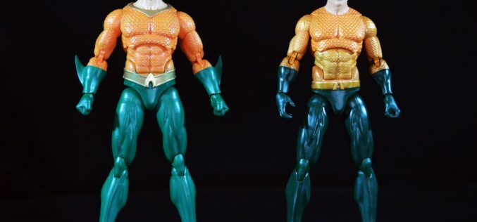 DC Icons Justice League 7 Pack 6″ Rebirth Aquaman Figure Review