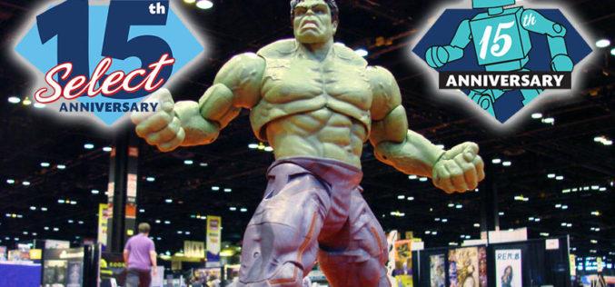 Diamond Select Toys Celebrates Two Anniversaries At Chicago's C2E2